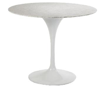 France & Son Marble Tulip Dining Table