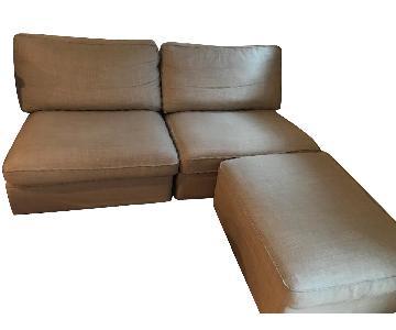 Ikea Kivik 3-Piece Sectional Sofa