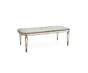 John Richard Antiqued Mirrored Dining Table