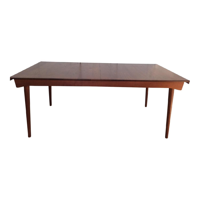 Astonishing France Son Finn Juhl Danish Modern Teak Dining Table Aptdeco Pabps2019 Chair Design Images Pabps2019Com