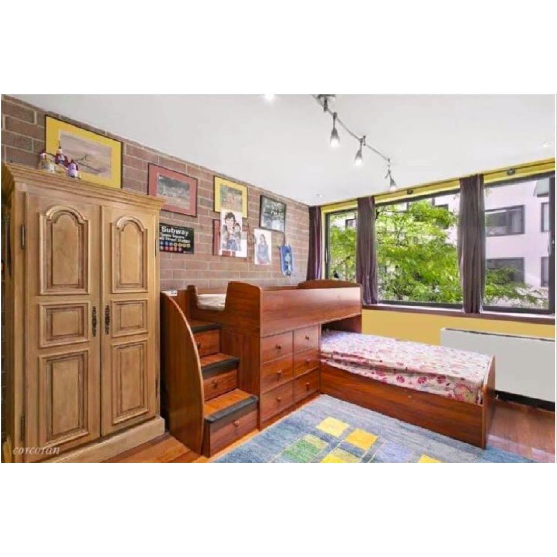 Berg Furniture Twin Over Twin Bunk Bed W Storage Aptdeco