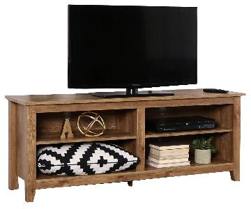 Home Accent Furnishings Barnwood Finish Television Stand