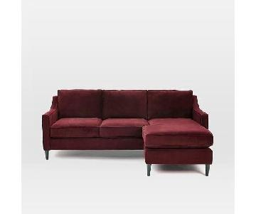 West Elm Paidge Reversible Sectional Sofa
