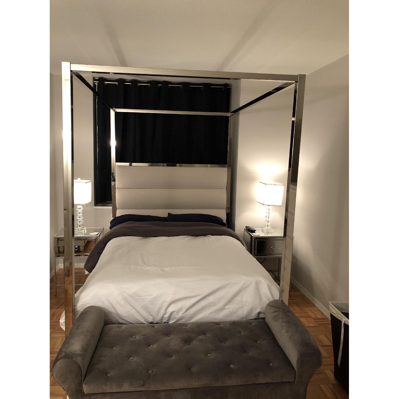 Willa Arlo Interiors Wicklund Full Size Canopy Bed Aptdeco
