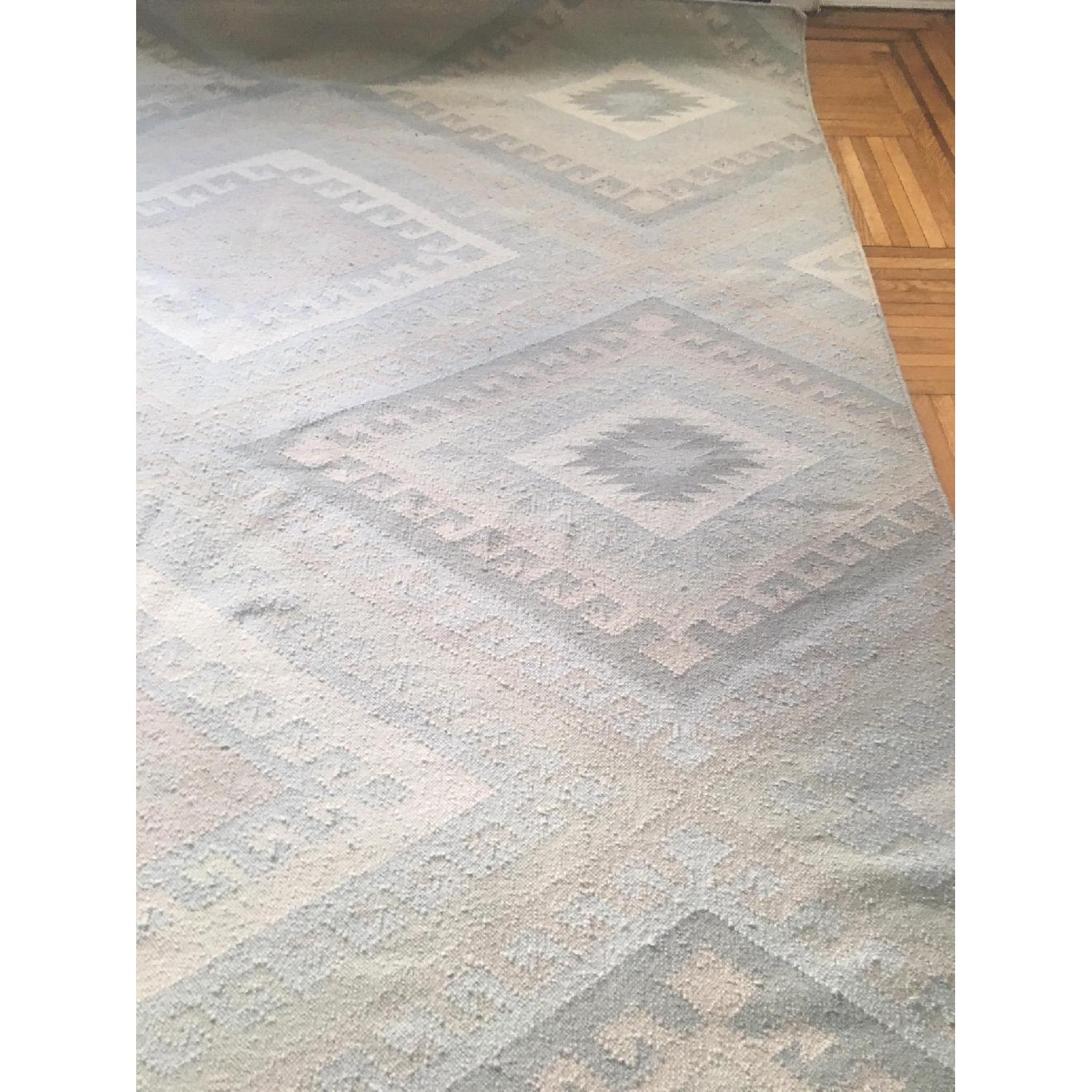 Southwest Inspired Woven Wool Rug