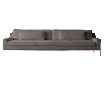 Restoration Hardware Italia Track Arm Sofa