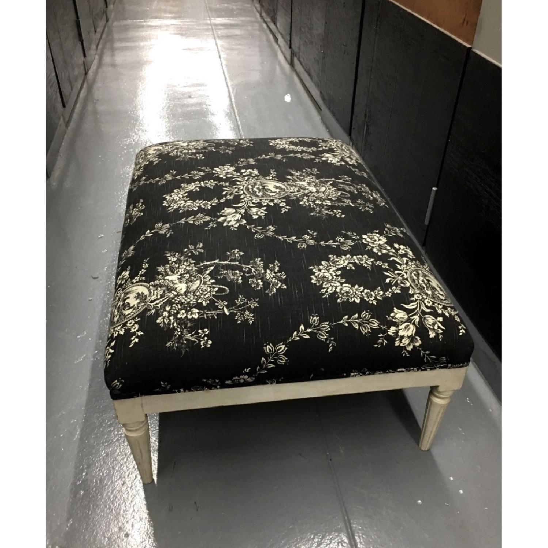 Lillian August Custom Toile Ottoman/Footrest - image-1