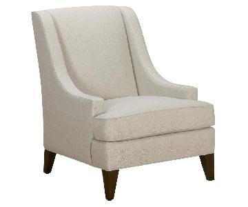 Ethan Allen Emerson Chairs & Ottoman
