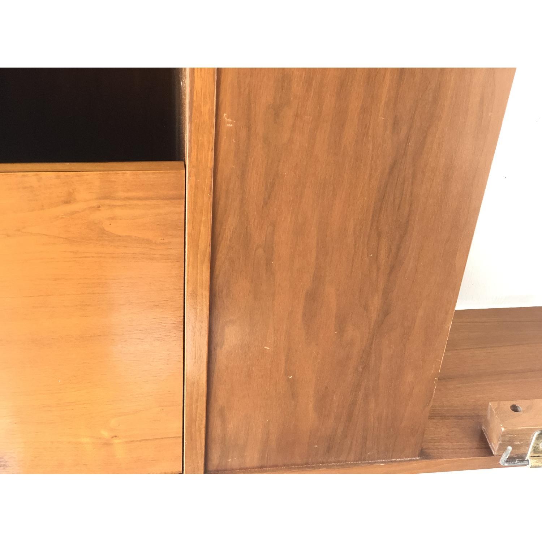 Mid-Cenfury Modern King Size Storage Headboard-11