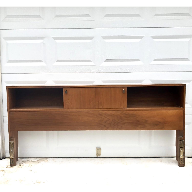 Mid-Cenfury Modern King Size Storage Headboard-12