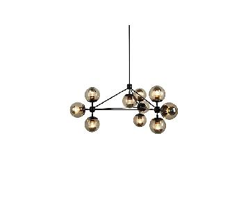 Design Within Reach Modo 3 Sided 10 Globe Chandelier