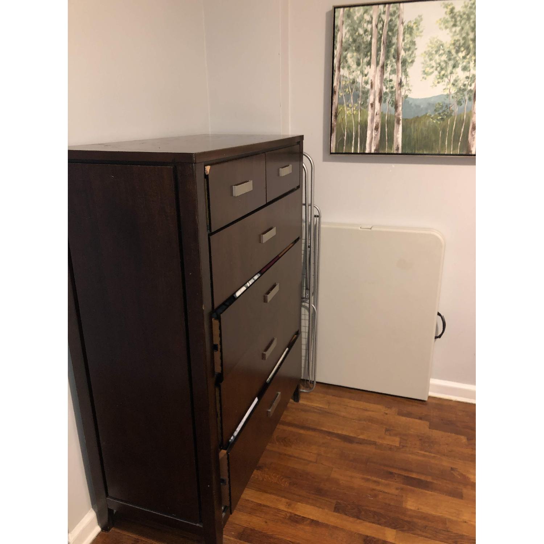 Raymour Flanigan Wood Dresser Aptdeco