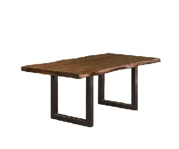 Acacia Wood Desk/Dining Table