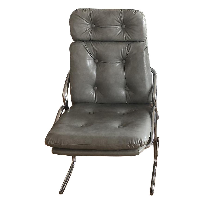 Jerry Johnson Arcadia Mid Century Chrome Dining Chairs