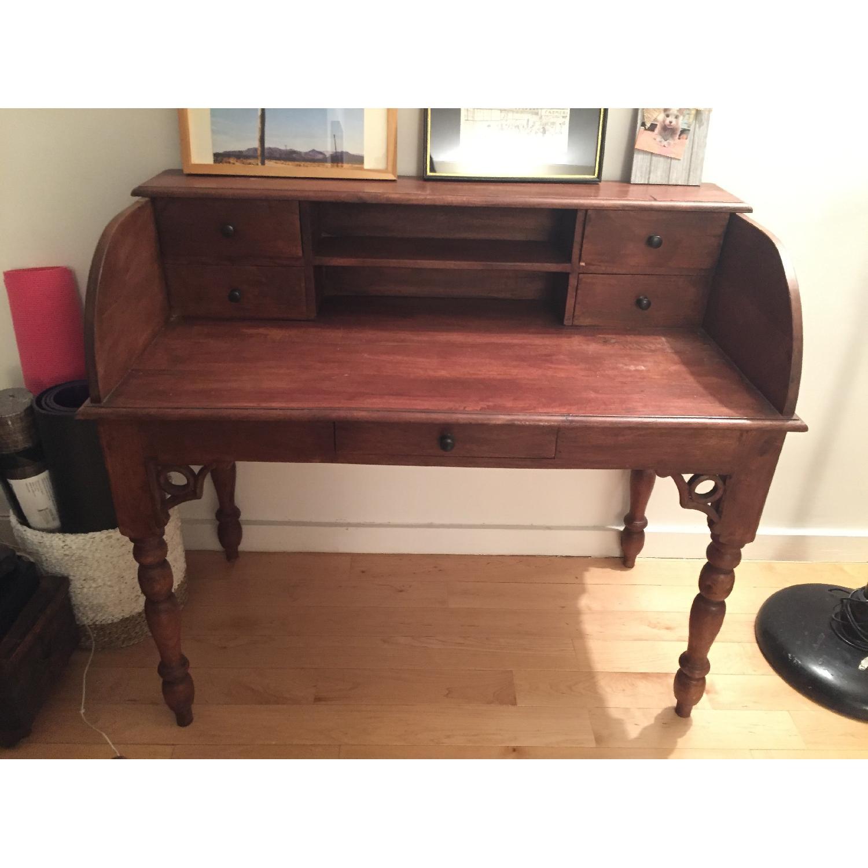Nadeau Wood Writing Desk-0