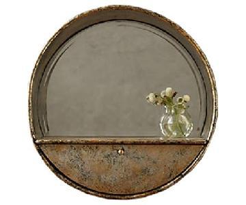 Anthropologie Mercana Industrialist Mirror Shelf