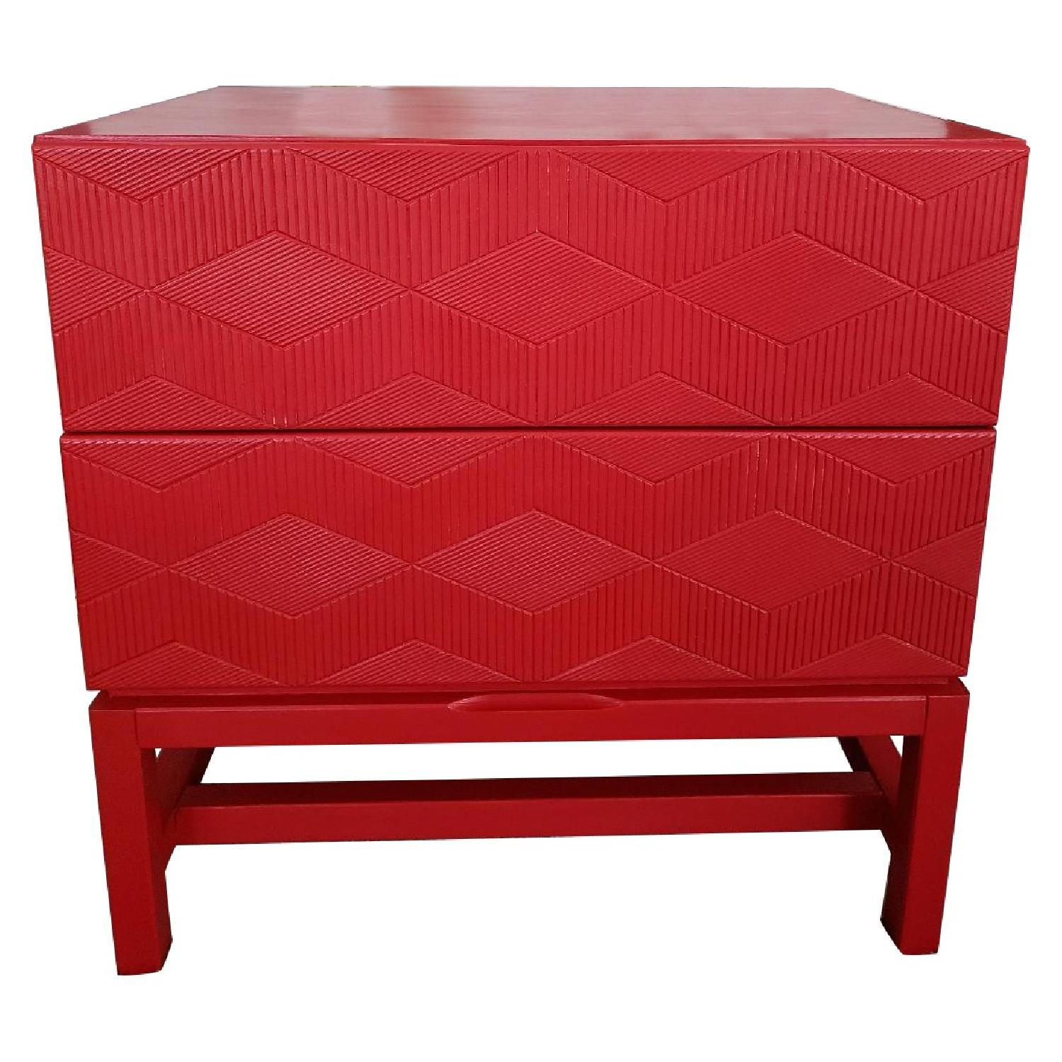 Art Deco Style Side Table/Nightstand