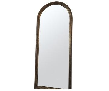 Antique Distressed Wall Mirror
