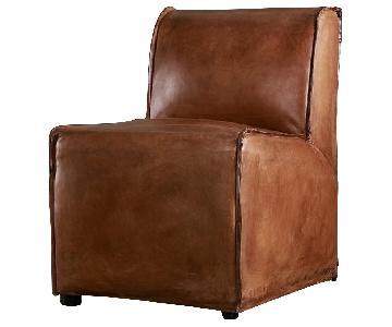 Restoration Hardware Bruno Leather Chair