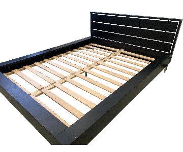 BoConcept Black Platform Bed Frame