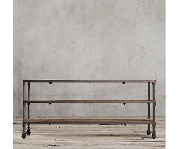 Restoration Hardware Dutch Reclaimed Wood Media Console