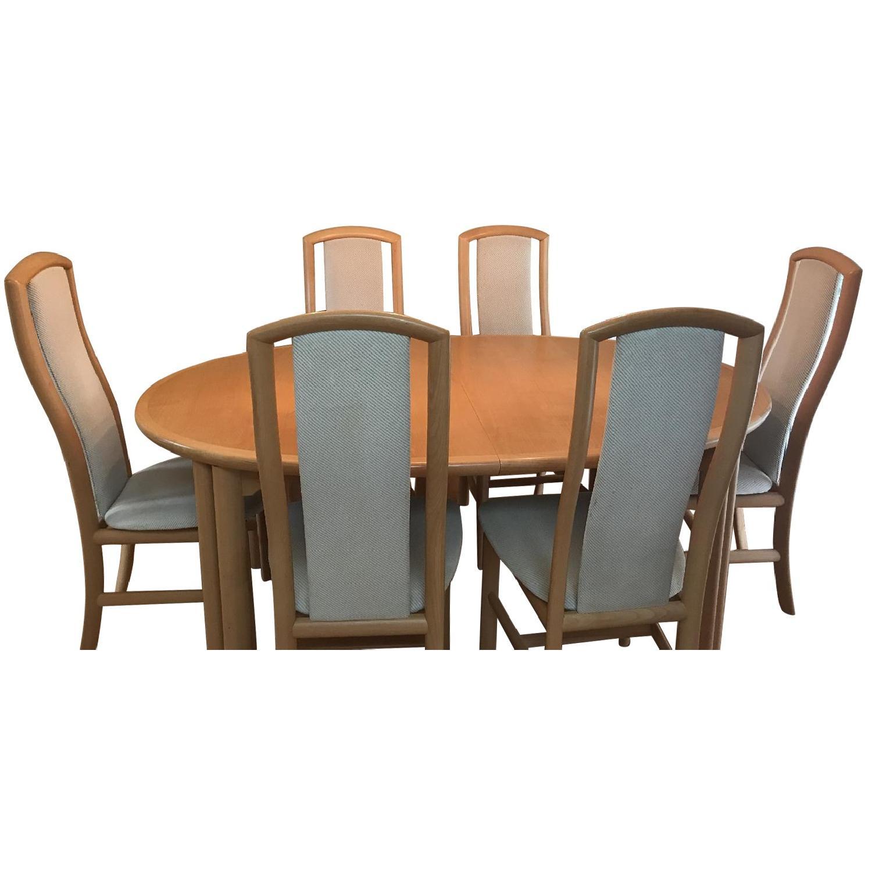 Skovby Scandinavian 7-Piece Dining Set - image-0