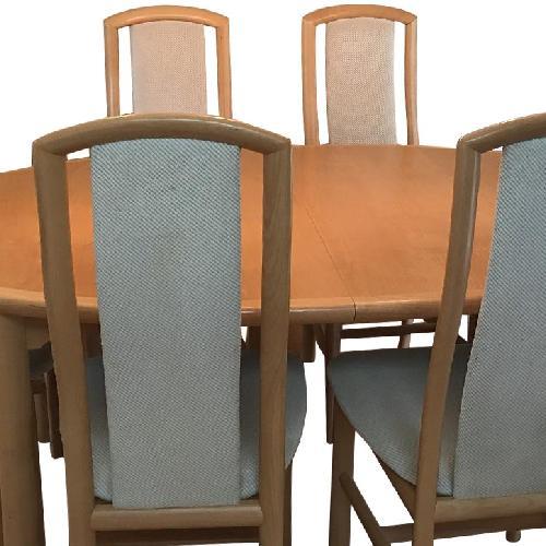 Used Skovby Scandinavian 7-Piece Dining Set for sale on AptDeco