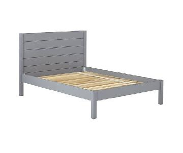 Crate & Kids Uptown Grey Full Bed