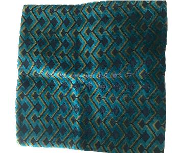 West Elm Mix-And-Match Blue Velvet Pillow Covers