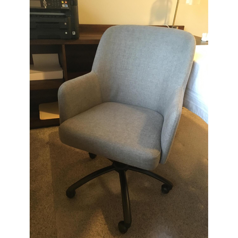 Pottery Barn Dublin Upholstered Office Chair-0