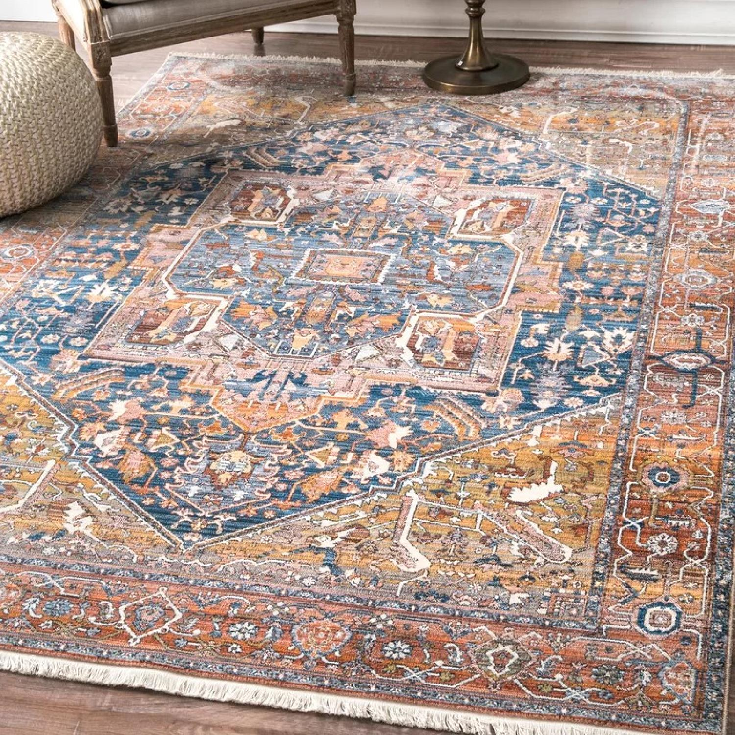 World Menagerie Persian Style Area Rug-0