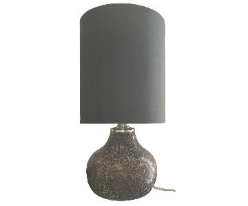 Pier 1 Mosaic Table Lamps w/ Shades