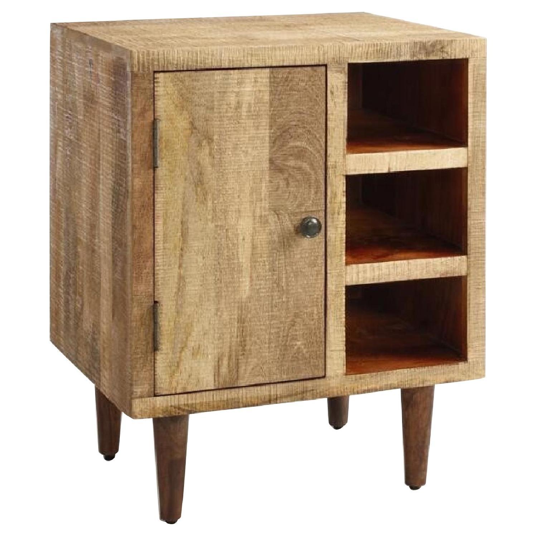 World Market Rustic Wood Cabinet