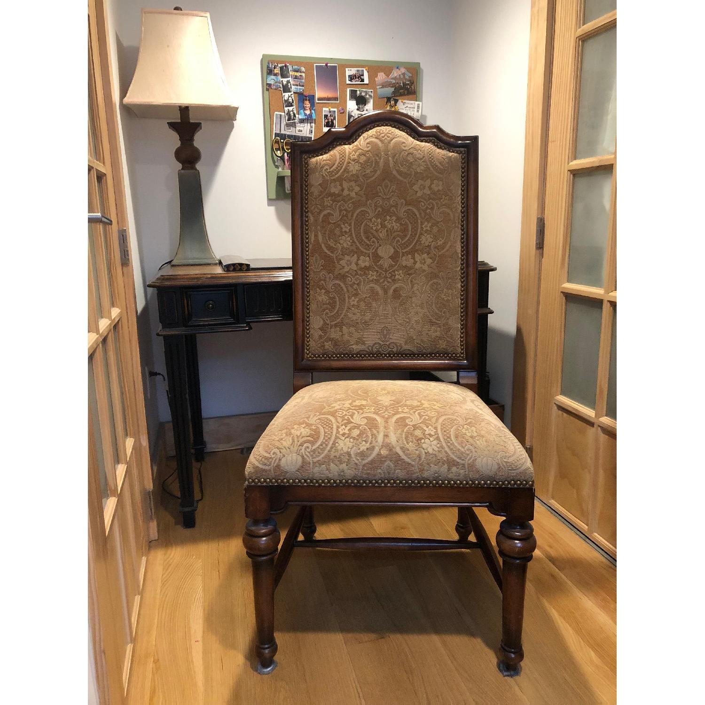 Wood Desk & Chair - image-1