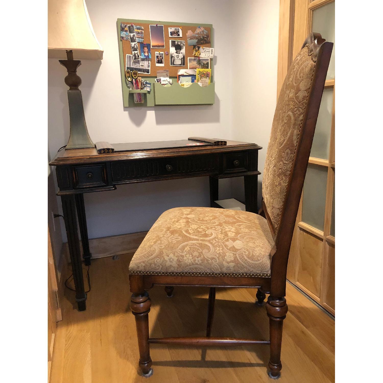 Wood Desk & Chair - image-2