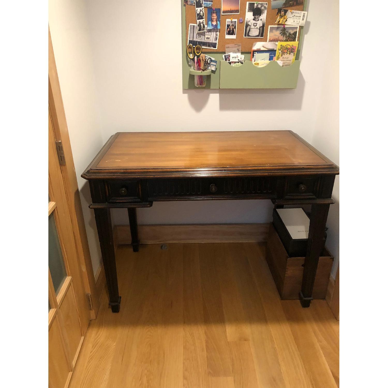 Wood Desk & Chair - image-3