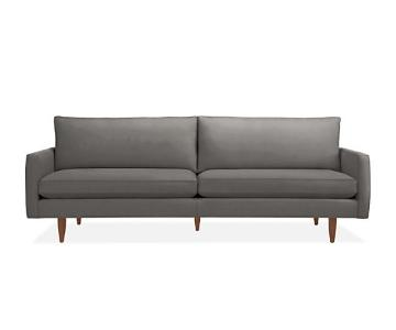 Room & Board Jasper Charcoal Wool Sofa