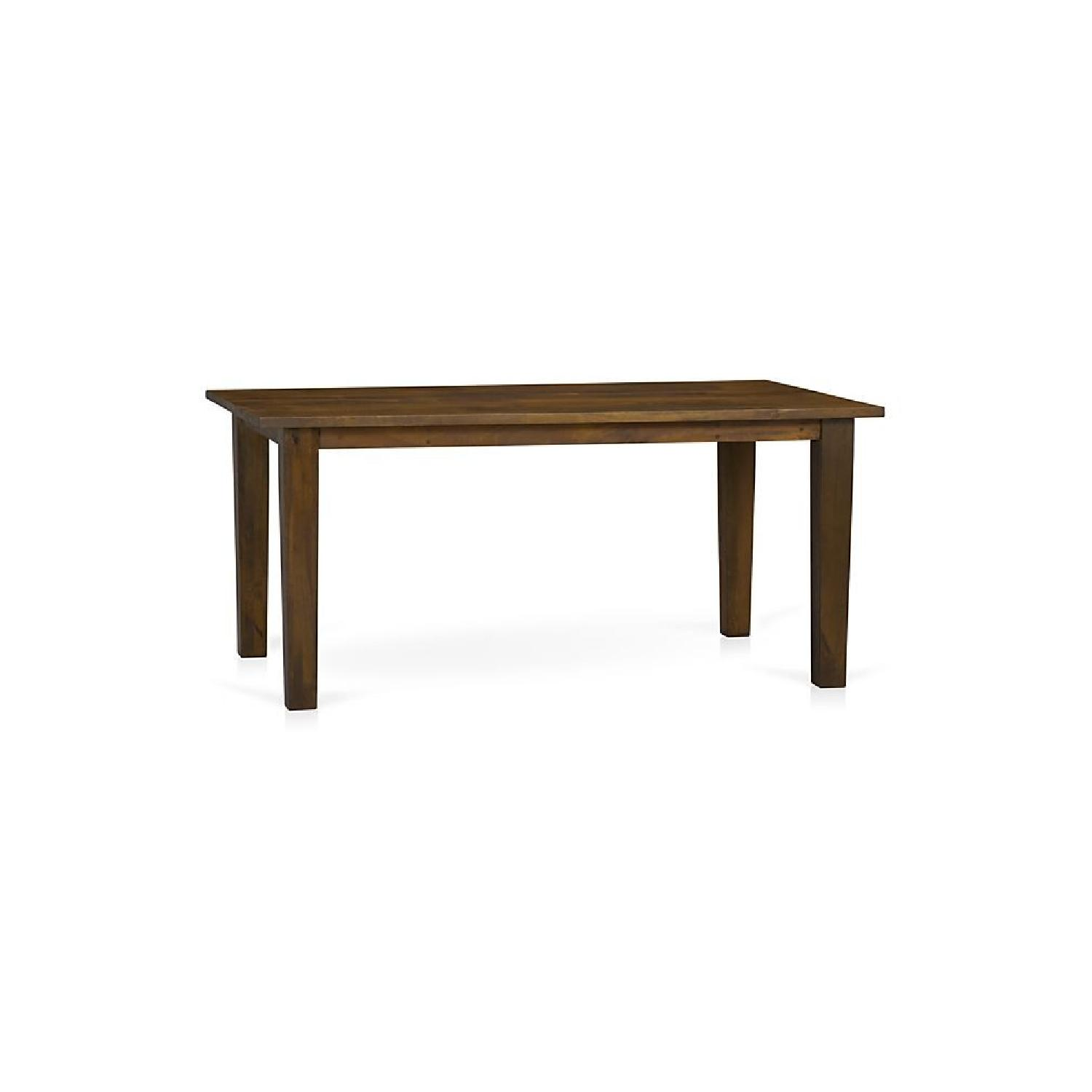 Crate & Barrel Basque Honey Dining Table