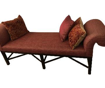 Baker Thomas Pheasant Roll Arm Bench