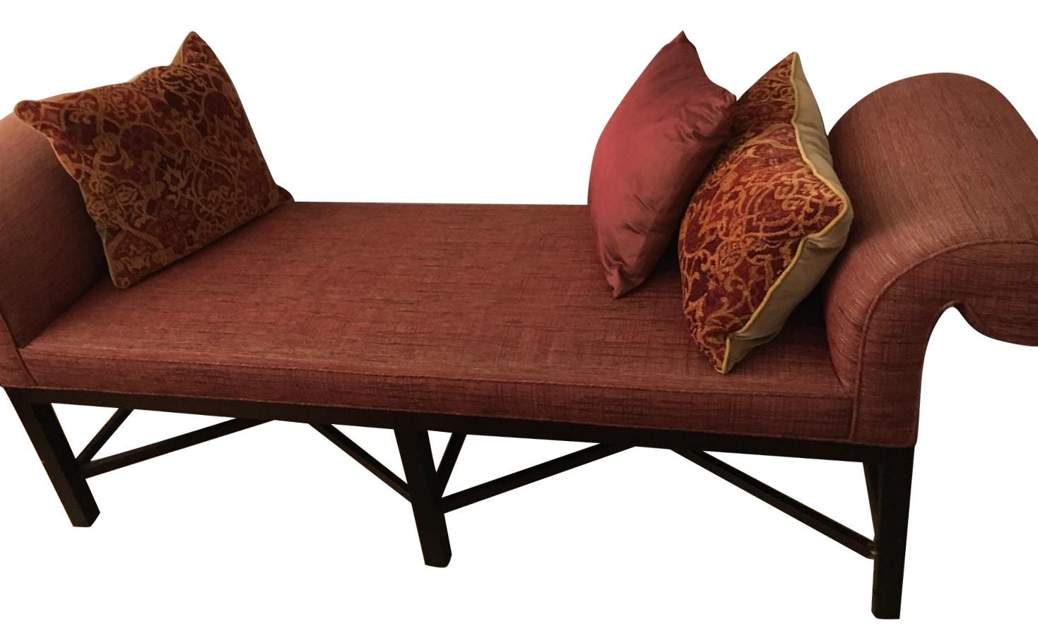 Baker Thomas Pheasant Roll Arm Bench