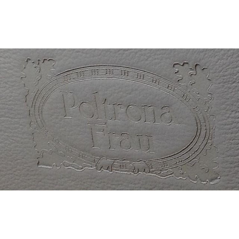 Poltrona Frau Creme Leather Coffee Table - image-5