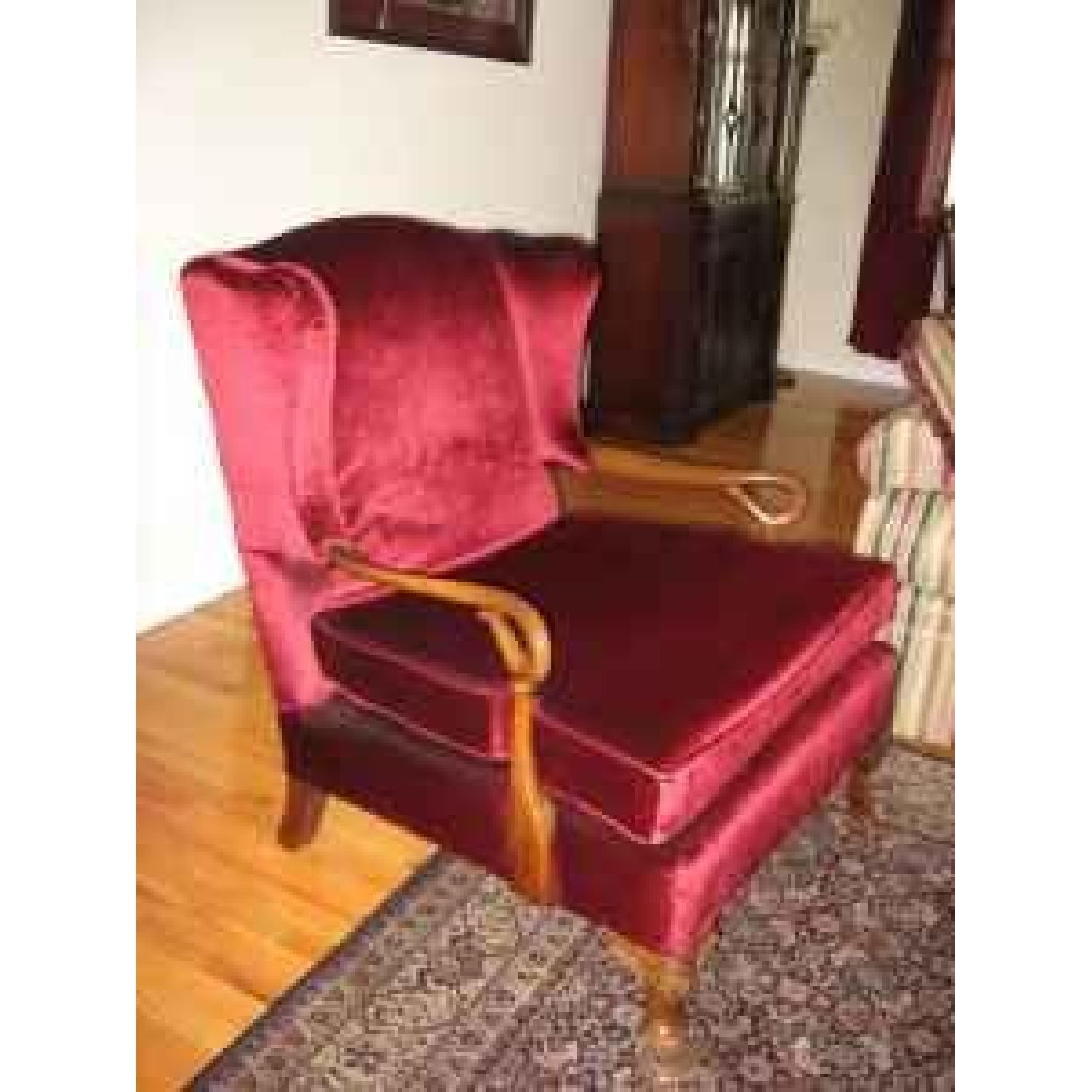 French Bergere Chair - image-1