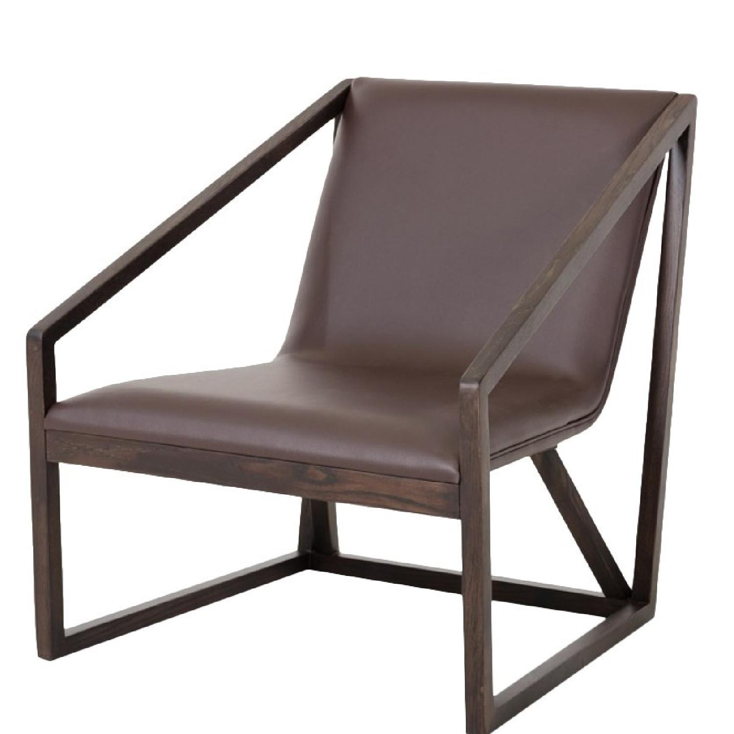 VIG Furniture Divani Casa Taranto Lounge Chair - image-0