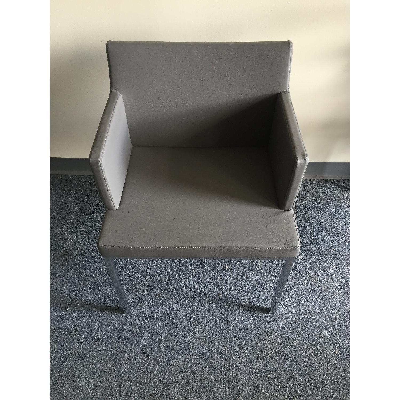 Lazzoni Grey Dining Chairs - image-1