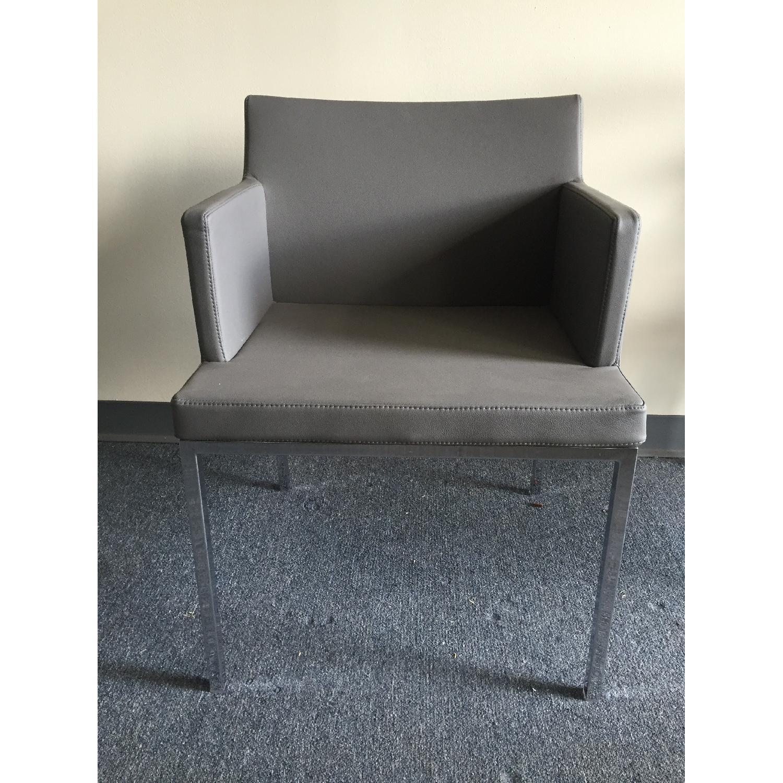 Lazzoni Grey Dining Chairs - image-2