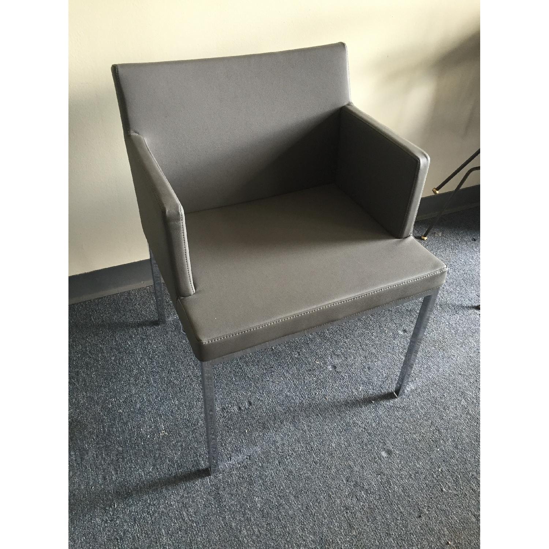 Lazzoni Grey Dining Chairs - image-3