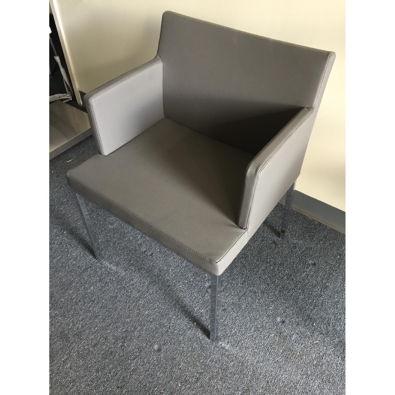 Lazzoni Grey Dining Chairs - image-4