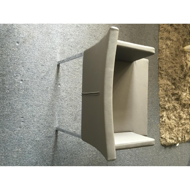 Lazzoni Grey Dining Chairs - image-6