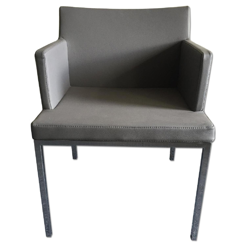 Lazzoni Grey Dining Chairs - image-0