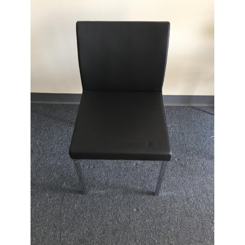 Lazzoni Black Dining Chairs - image-1
